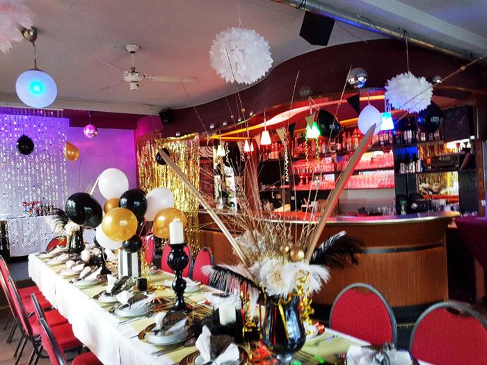 Dekoration Bar